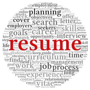 Resume Writing Workshop Notice Board
