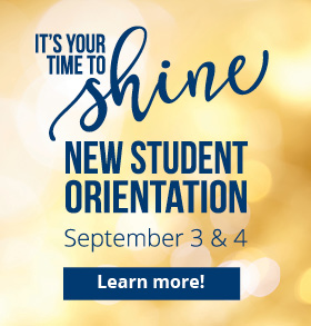 New Student Orientation September 3 & 4