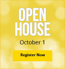 Open House October 1st