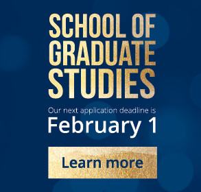 School of Graduate Studies Application Deadline February 1 2017