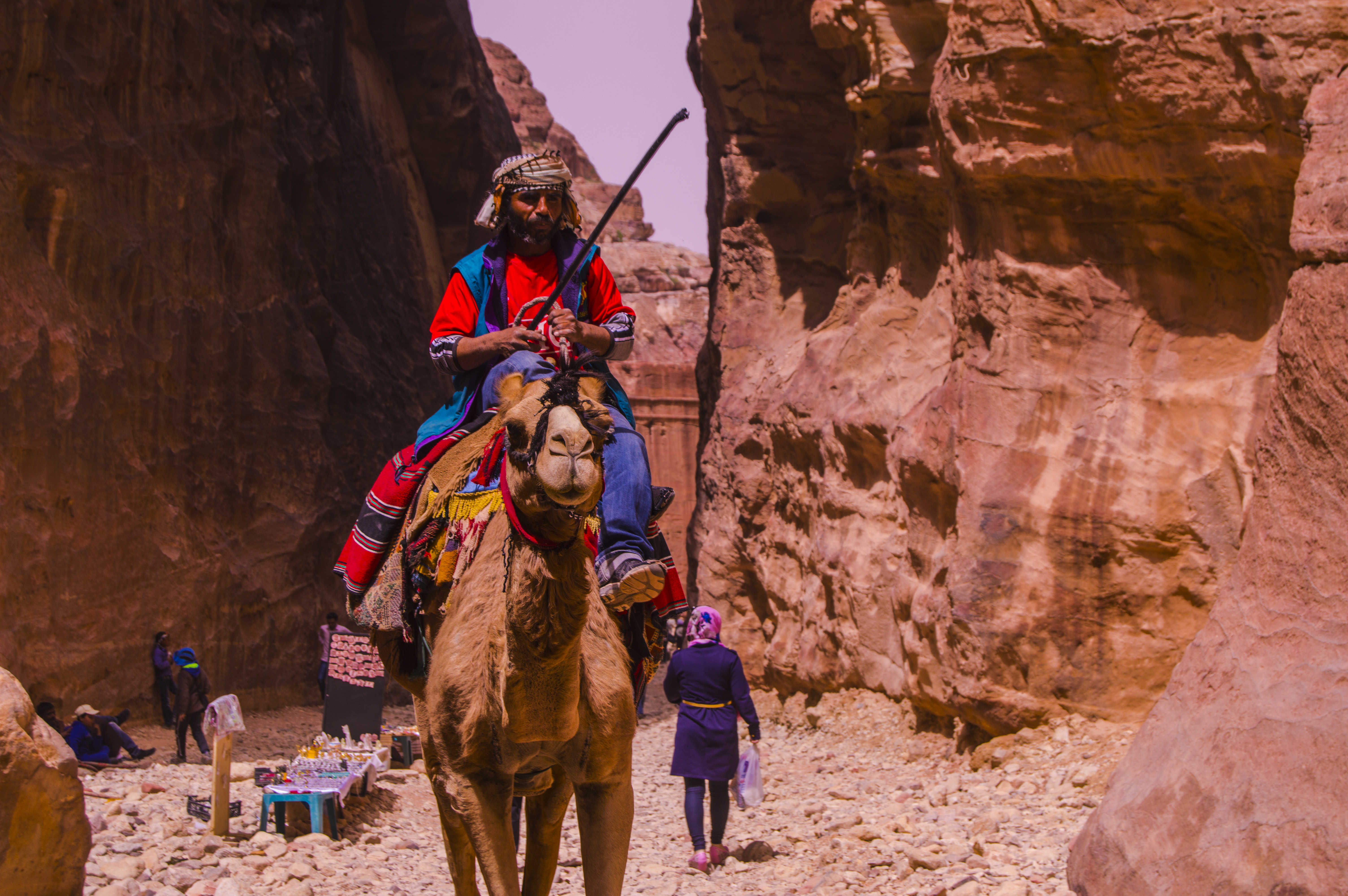 Camel Rider by Abdullah Mouslli - People and Culture Finalist
