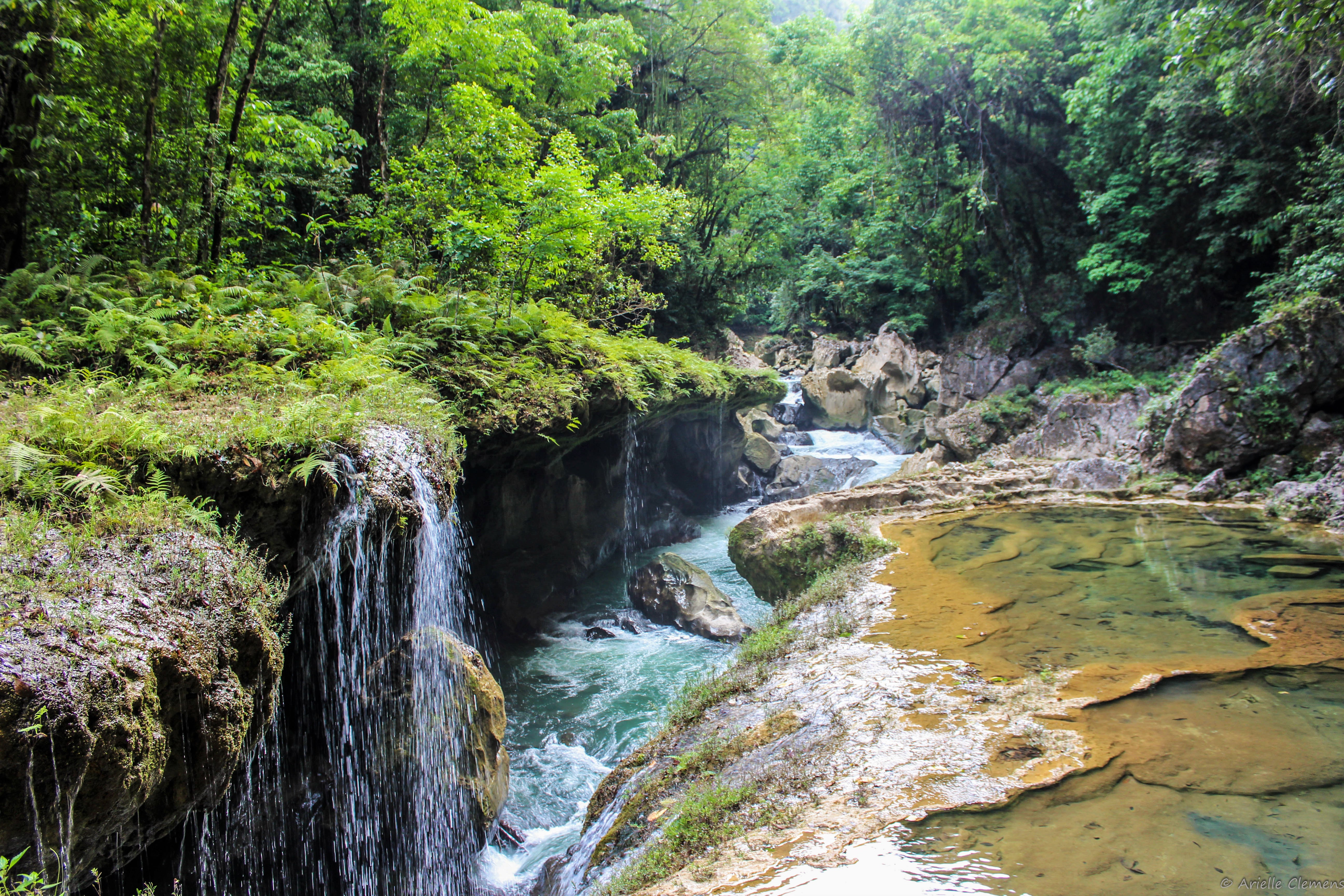 Semuc Champey by Arielle Clemens - Cities and Landscapes Finalist