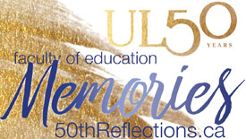 Ul50 Years Faculty of Education