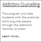 Addictions Counselling
