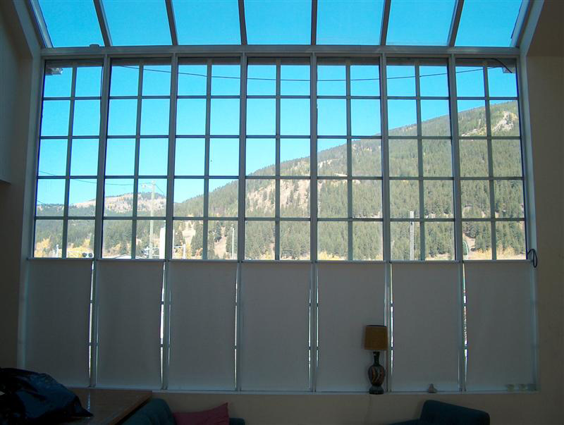 large window with lots of light coming in