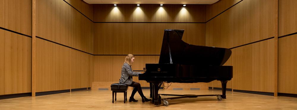Dana Visser piano recital