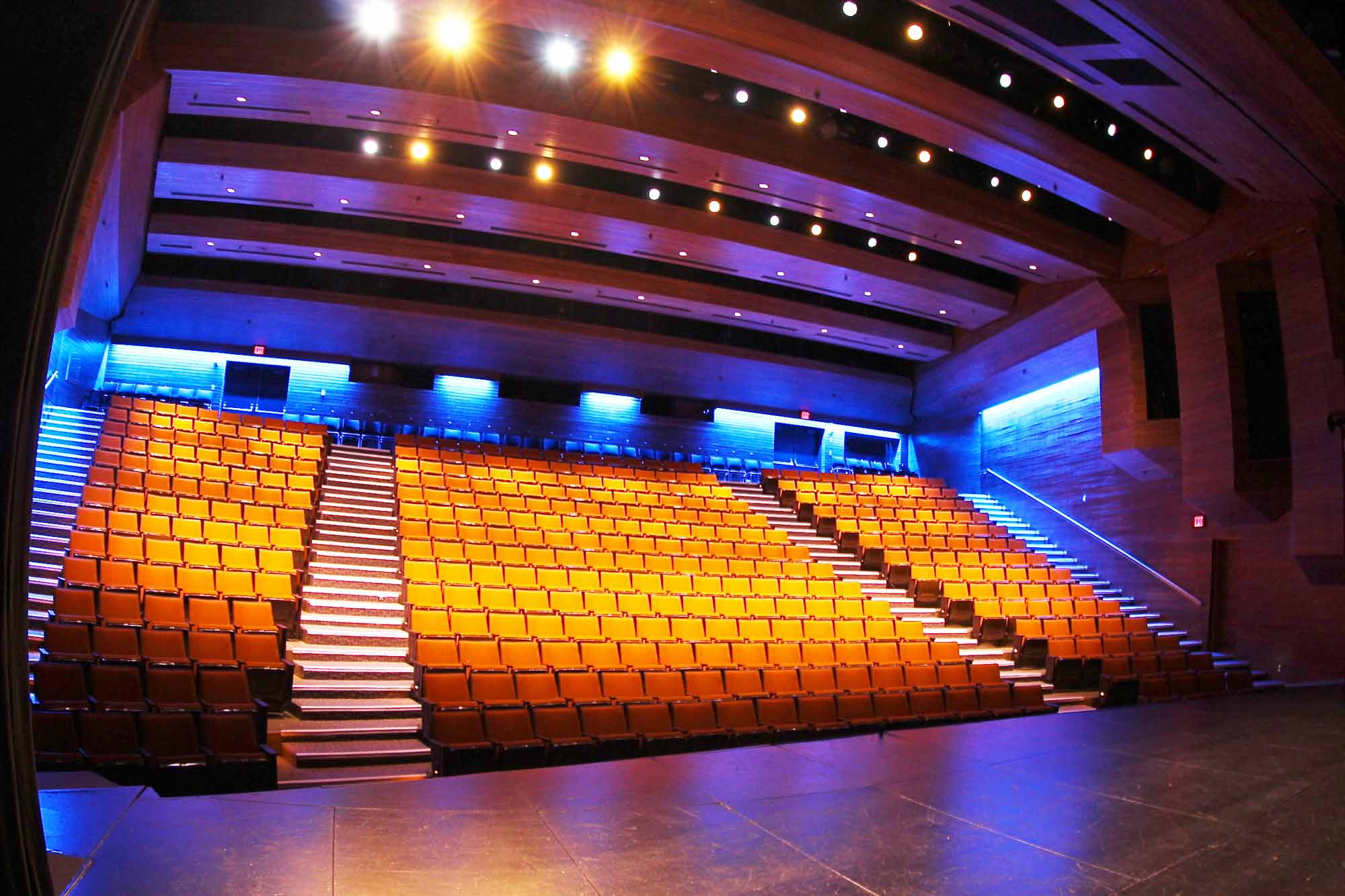 Image of seats in University Theatre