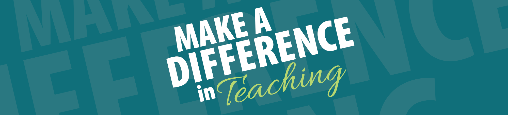 Make a difference in teaching. Become a teaching fellow.