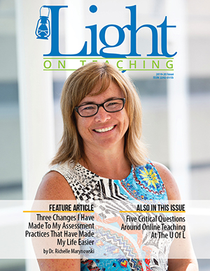 A Light on Teaching - 2019-20 Issue