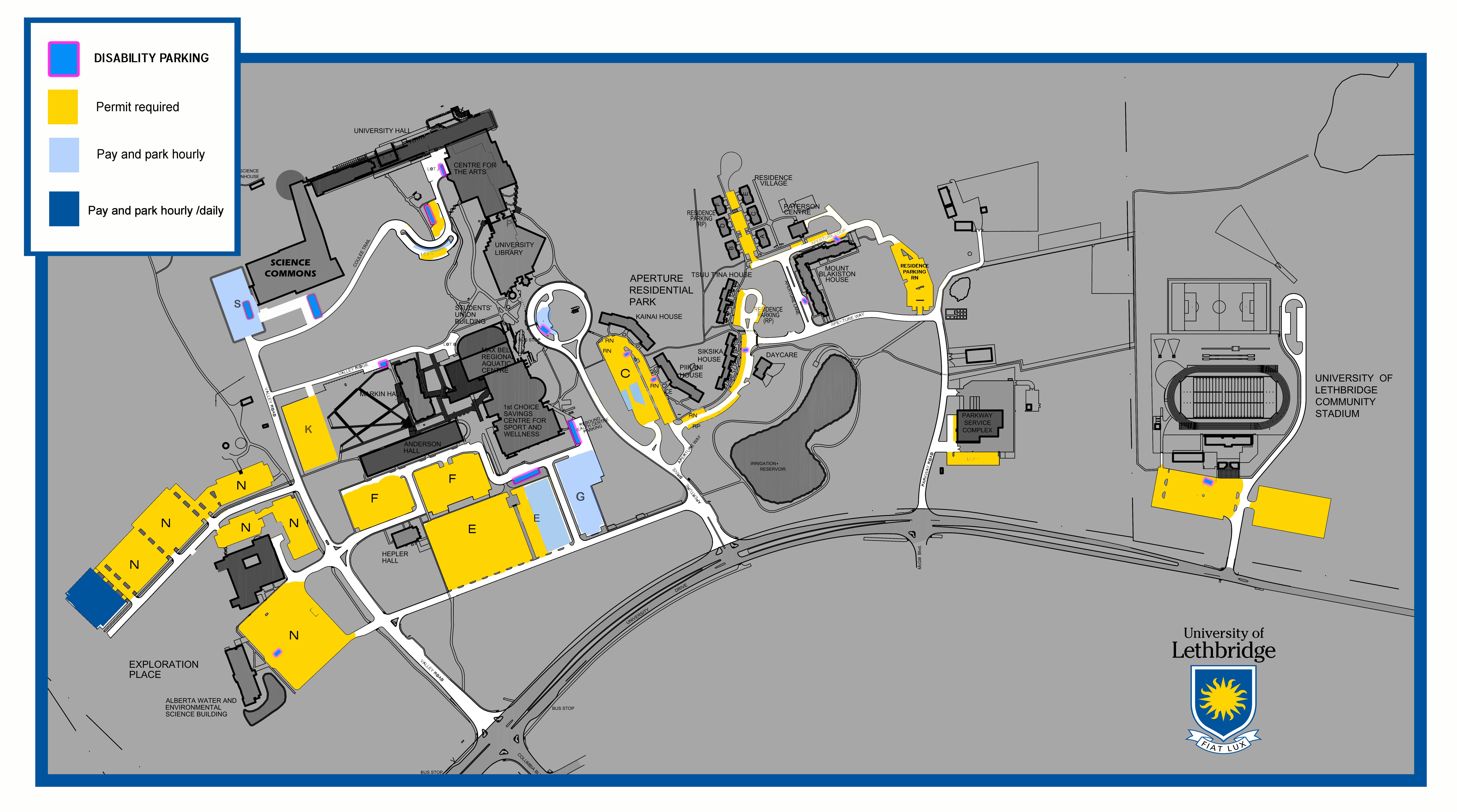 u of winnipeg campus map, university of calgary parking map, u of waterloo campus map, u of lethbridge campus map, u of memphis campus map, u of regina campus map, calgary alberta map, park map, u of c campus map, on u of calgary campus map