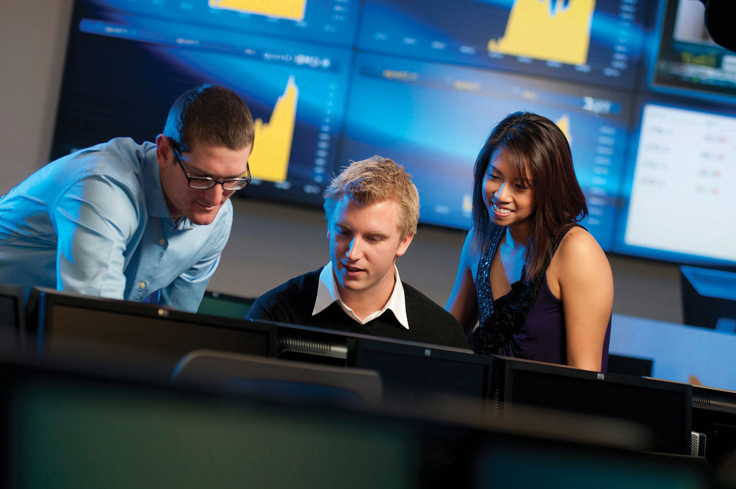 Students in the Centre for Financial Market Research and Training