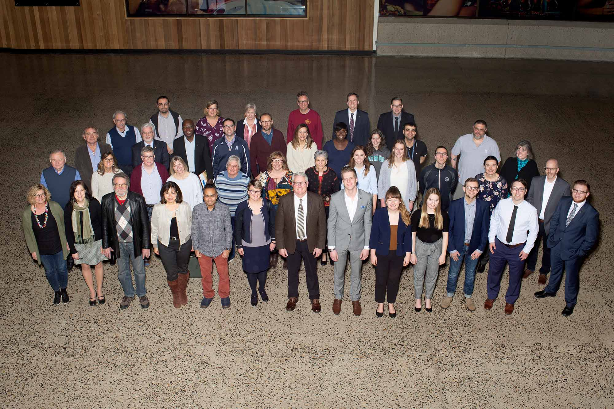 General Faculties Council group shot