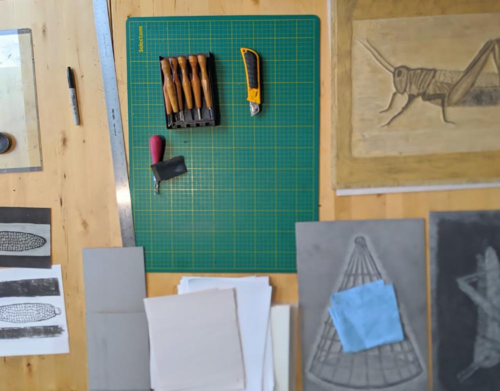 Glen MacKinnon - Low-Tech Printmaking