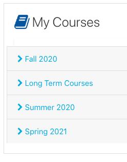 my courses