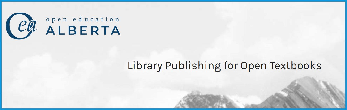 Logo of Alberta Open Education Pressbooks website