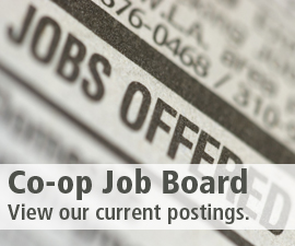 Co-op Job Board - View our current job postings