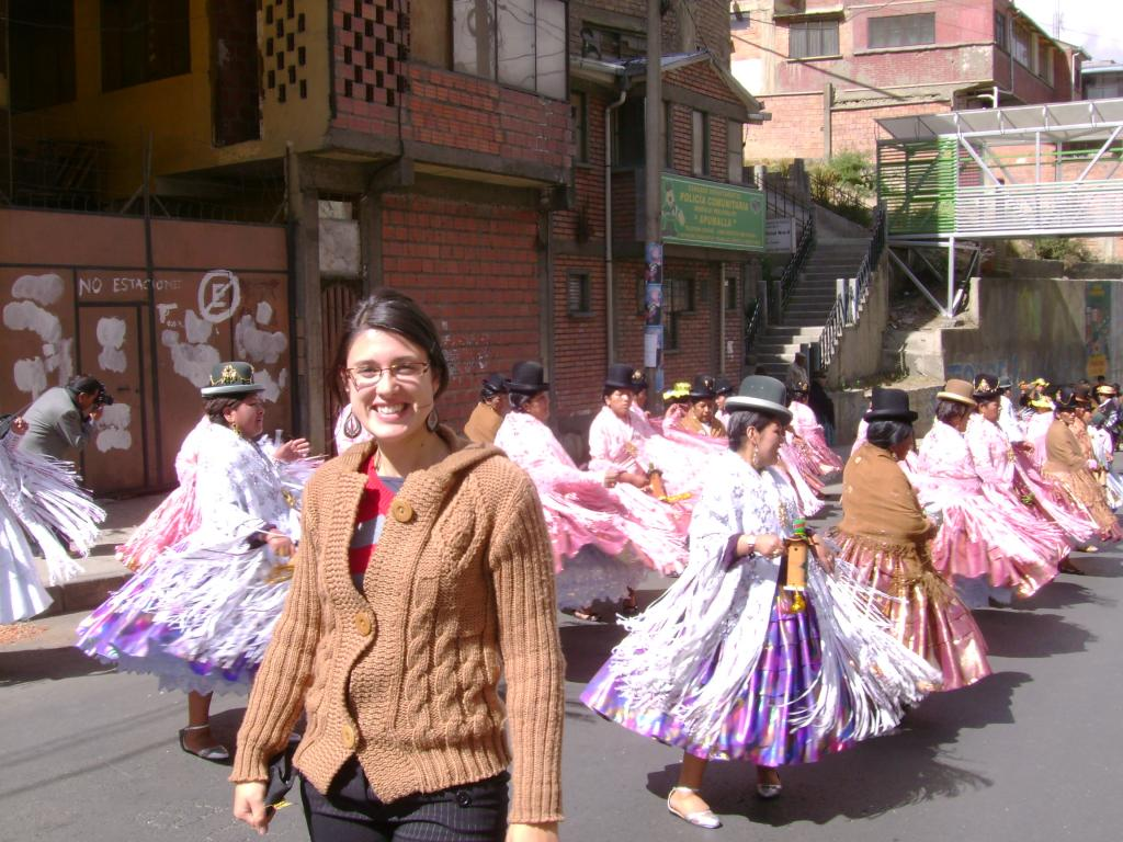 U of L Alumna Janelle Gerestein in Bolivia