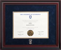 Degree Frames University Of Lethbridge
