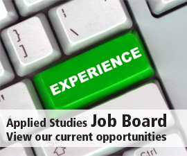 Applied Studies Job Board