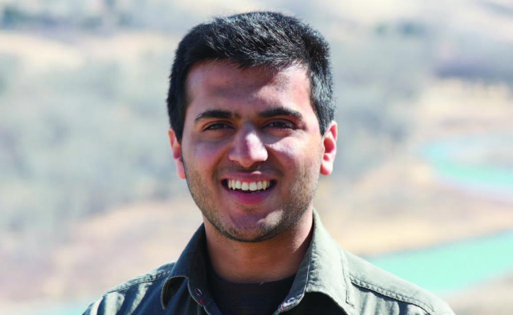 2nd yr neuroscience student Dipankar Goyal