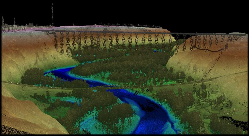 Lidar Train Bridge
