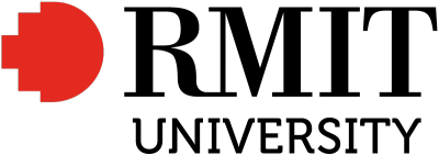 text logo for RMIT
