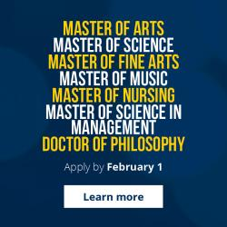 Promoting Graduate Studies Apply by February 1