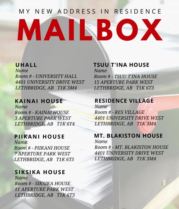 My New Address