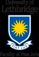 University of Lethbridge Faculty of Fine Arts logo - colour rgb