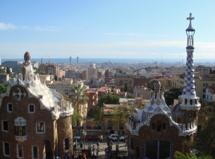 Granada, Spain city view