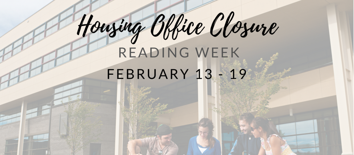 Housing Office Closure