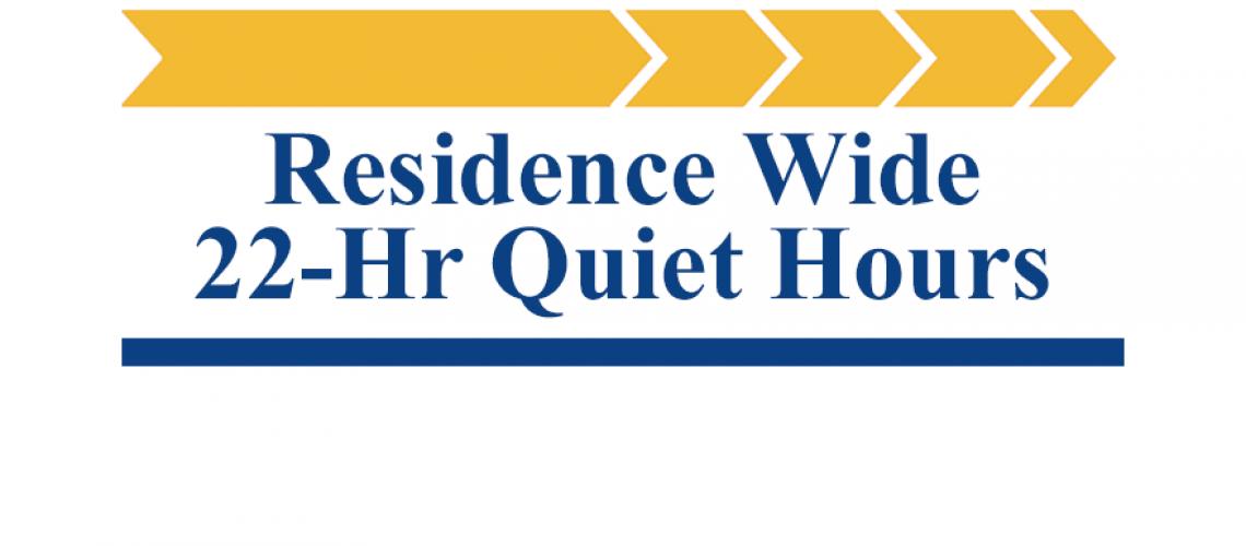 22-Hr Quiet Hours