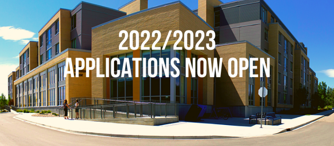 Applications Now Open
