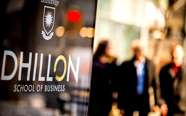 Photo of Dhillon School of Business logo