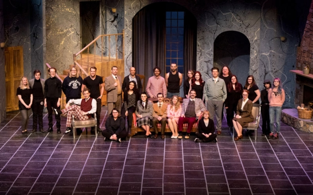 cast of the play Mouse Trap