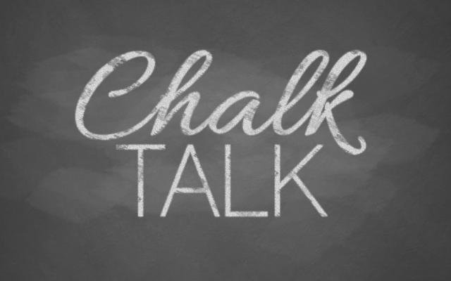 Chalk Talk: Sharing Classroom Strategies