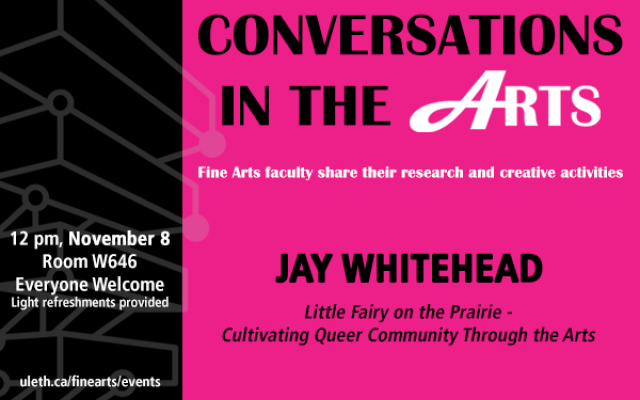Conversations in the Arts: Jay Whitehead