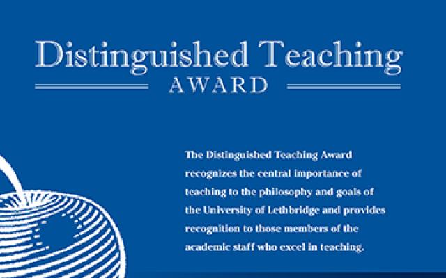 Distinguished Teaching Award