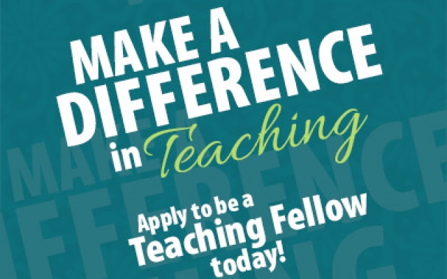 Apply to be a Teaching Fellow