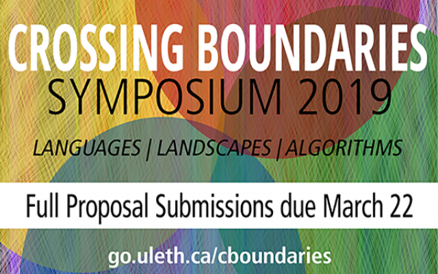 Crossing Boundaries Symposium call for proposals