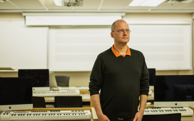 Digital Audio Arts faculty member Georg Boenn