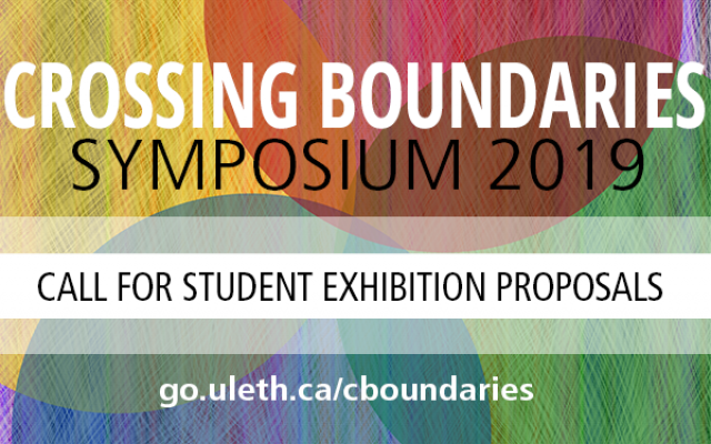 Crossing Boundaries call for student proposals