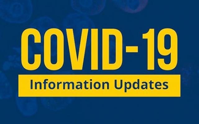COVID info updates