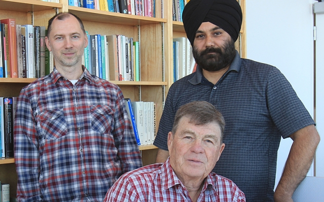 These researchers, from left to right, Drs. Artur Luczak, Hardeep Ryait and Ian Whishaw, have shown deep learning can analyse complex behaviour.
