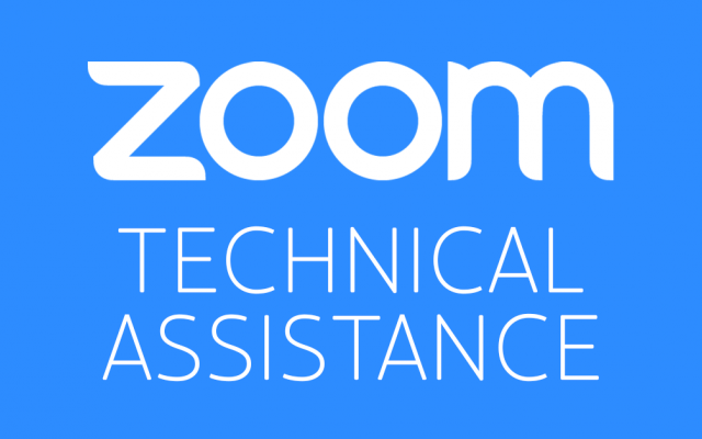 Zoom Technical Assistance
