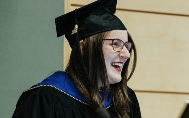 uLethbridge graduate, Alysha Ramus