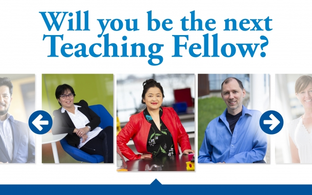 Teaching Fellow - Call for Applications
