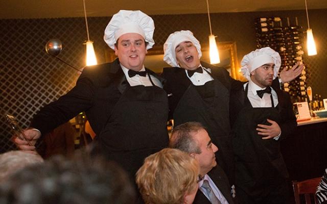 Abbondànza chefs trio