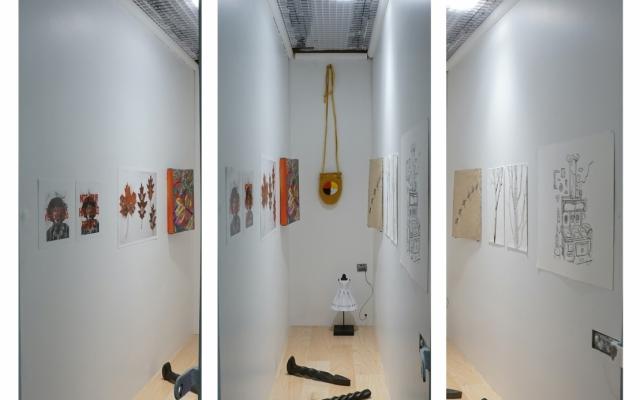 Open House in Miniature exhibition, niche gallery, 2021.