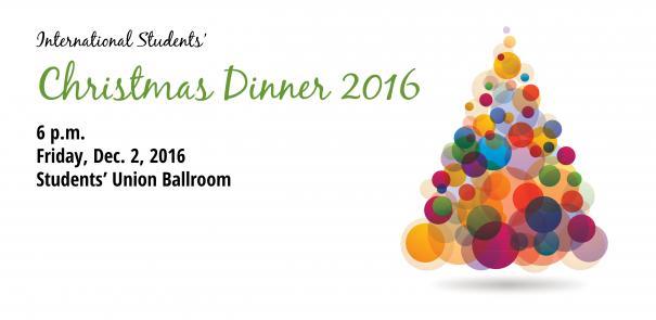 International Students' Christmas Dinner 2016